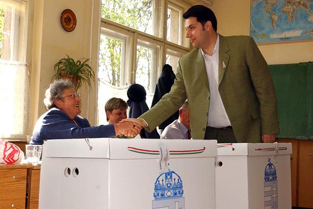 Lázár János a 2002-es országgyűlési választásokon