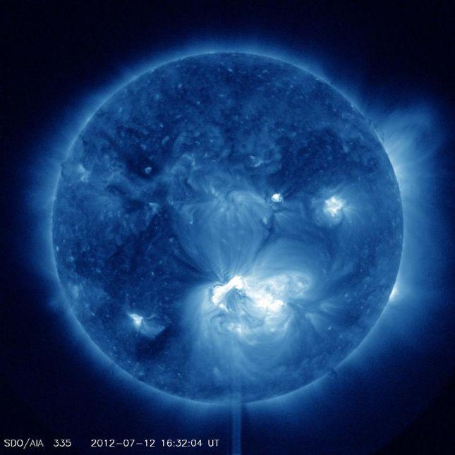 Forrás: NASA/SDO